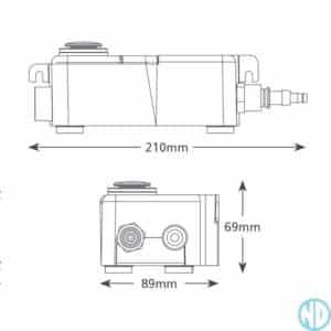 Aspen Mini Tank Pump FP1056 - NZ DEPOT 2